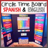 Circle Time Board: Spanish & English