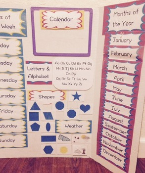 Circle Time + Daily Worksheet (Preview)