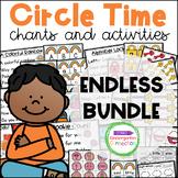 Circle Time Chants and Activities ENDLESS BUNDLE