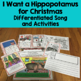 """""""I Want a Hippopotamus for Christmas """" Differentiated Book Interactive"""