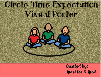 Circle Time Expectation Poster