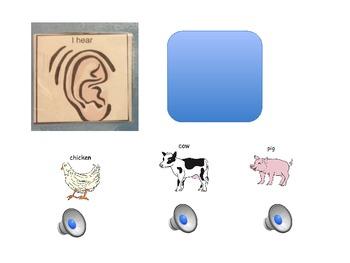 Circle Time- Farm Theme- Autism