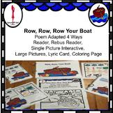 Row, Row, Row Your Boat interactive Nursery Rhyme Circle Time