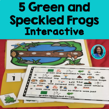 Circle Time Fun Song: 5 Green and Speckled Frogs Interactive