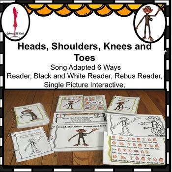 Circle Time Fun Song, Head, Shoulder, Knees and Toes Adapt