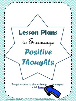 Circle Time Lesson Plans to Encourage Positive Thinking- along with Printables
