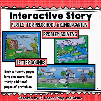 Letter A Write the Room, Interactive Read Along and Activities