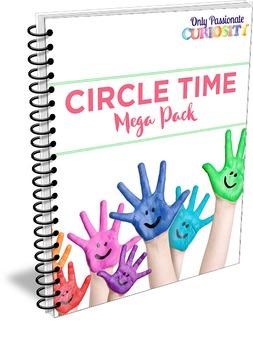Circle Time/ Morning Meeting Mega Pack- Calendar and Weather