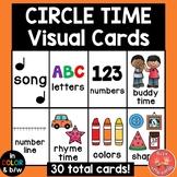 Circle Time Visual Schedule Cards (Preschool, Sped, Kindergarten)
