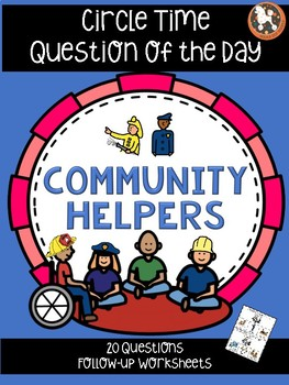 Question of the Day for Special Needs Kids...COMMUNITY HELPERS