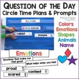 Circle Time Question of the Day Prompts, Ideas, and Activi