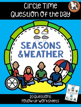 Question of the Day for Special Needs Kids...SEASONS & WEATHER