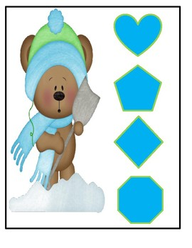 Circle Time Review Cards For Winter