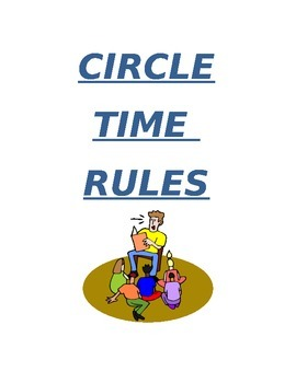 Circle Time Rule Cards