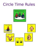 Circle Time Rule Poster Visual