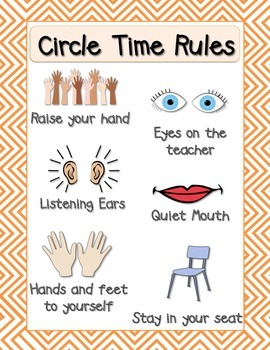 Circle Time Rules