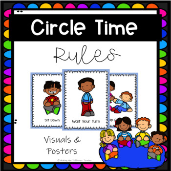 Circle Time Rules Poster