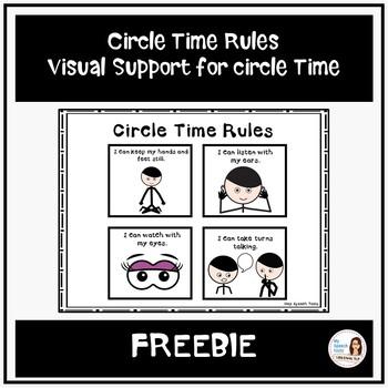 Circle Time Rules (FREEBIE)