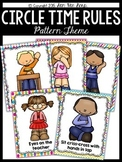 Circle Time Rules Worksheets Amp Teaching Resources Tpt