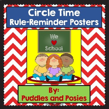 Circle-Time Rules Posters