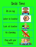 Circle Time Rules Visual Support