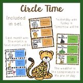 Circle Time Set - Jungle Theme