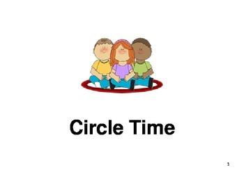 Circle Time - Social Story