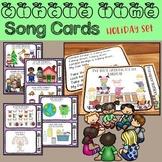 Circle Time Song Cards - Holiday and Seasonal Set