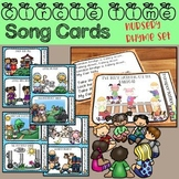 Circle Time Song Cards - Nursery Rhymes for Preschool & Kindergarten