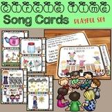 Circle Time Song Cards - Playful and Fun