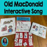 Circle Time Song: Old MacDonald Choice Making, Sentence building song