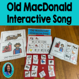 Circle Time Song: Old MacDonald Choice Making, Sentence bu