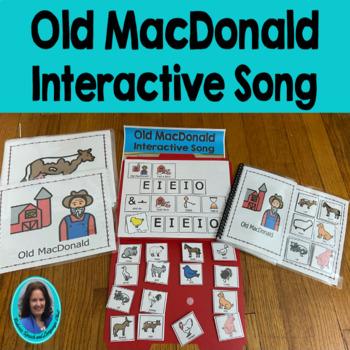 Circle Time Song: Old MacDonald Choice Making, Sentence bu