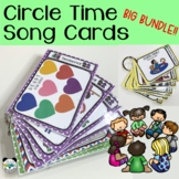 Circle Time Songs - BIG BUNDLE 160+ Song Cards (Growing Bundle)