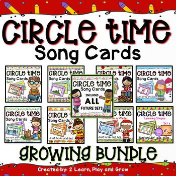 Circle Time Songs Growing Bundle