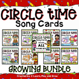 Circle Time Song Cards Finger Plays, Songs and Nursery Rhy