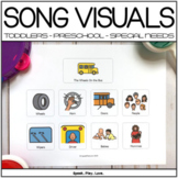 Circle Time Songs Interactive Visuals and Communication Boards
