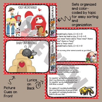 Circle Time Songs - Animal Song Set for Preschool and Kindergarten