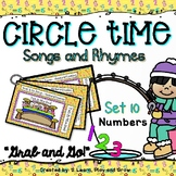Circle Time Songs and Fingerplays - Set 10 - Counting & Numbers