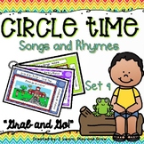 Circle Time Songs and Fingerplays - Set 9