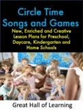Circle Time Songs and Games and Parachute Songs and Games