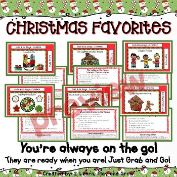 Circle Time Songs for Christmas and Winter - Set 7