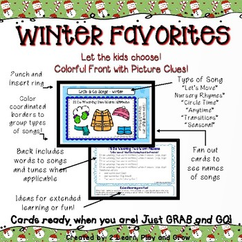 Circle Time Songs for Winter - Set 7