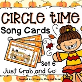Circle Time Songs Thanksgiving and Fall - set 6