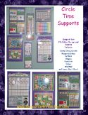 Circle Time Support Collection - Ideal for Day Care or Small Preschool Program