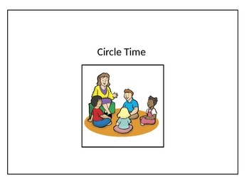 Circle Time Visual for Students who are Non-verbal