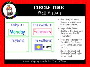 Circle Time Wall Visuals