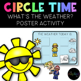 "Circle Time ""What's the Weather?"" Poster Activity"