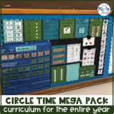 Circle Time / Morning Meeting Curriculum for a Year MEGA PACK for Special Ed