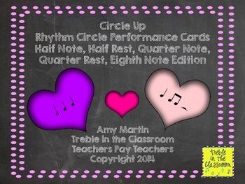 Circle Up: Rhythm Ensemble Performance Activity (Half, Quarter, Eighth Edition)